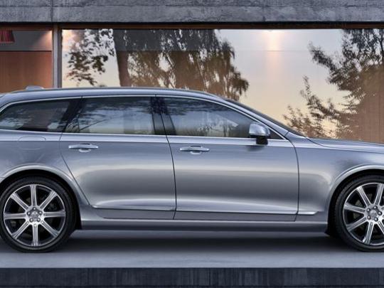 Nové Volvo V90 bi-fuel