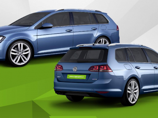 Exkluzívní nabídka pronájmu VW Golf Kombi