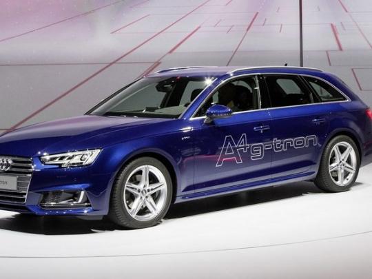 Test Audi A4 g-tron od Gibgas.de