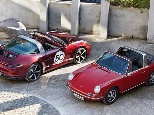 Pohled Porsche