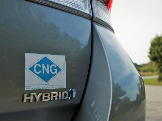 Hybridizace CNG