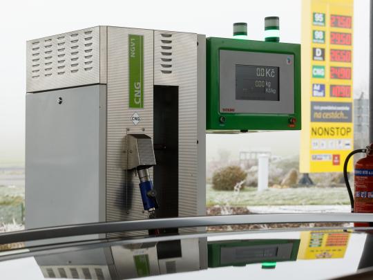 Přehled nejlevnějších CNG stanic v ČR